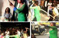 उत्तर प्रदेश मुख्यमंत्री अखिलेश यादव के गृह जनपद मैनपुरी में छेड़-छाड़ में असफल दबंगों ने युवती व उसके पति को लाठी से पीटा , युवती का फटा सर