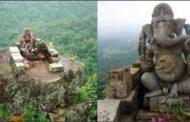 3000 फीट की पहाड़ी पर मिली गणेश भगवान की दुर्लभ प्रतिमा.