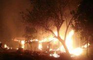 जमालदिपुर में आग लगने से 12 घर जलकर हुए राख