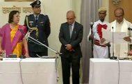 मणिपुर : 24 वें मुख्यमंत्री के रूप में एन बीरेन सिंह ने ली शपथ.