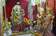 अष्टमी पर देवी मन्दिरों में उमड़े भक्त, हवन-पूजन के साथ कराया कन्या भोज