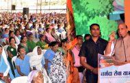 राजनाथ सिंह : देश-दुनिया में नर्मदा सेवा यात्रा बनेगी मील का पत्थर