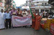 निकाली अविरल गंगा यात्रा, वाराणसी से बद्रीनाथ धाम पहुचेंगे युवा और संत