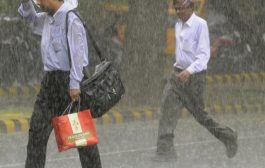 सुहावने मौसम और हलकी बारिश से लोगों को मिली गर्मी से राहत