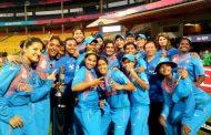 भारतीय महिला क्रिकेट टीम को बीसीसीआई ने दी बधाई