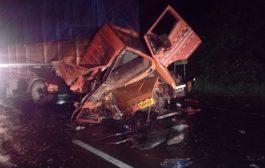 पालघर में ट्रक और बस की टक्कर , 1 की मौत दो घायल