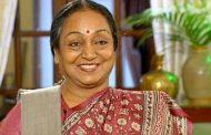 राष्ट्रपति चुनाव : मीरा कुमार समर्थन जुटाने के लिए आज जाएंगी भोपाल