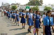 बच्चों ने निकाली स्कूल चलो रैली