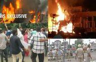 ब्रेकिंग , पंचकूला हिंसा... कई राज्यों में डेरा समर्थकों का तांडव 11 लोगों की मौत, दमकल ,सरकारी ऑफिसो ,टेलीफोन एक्सचेंज, को किया आग के हवाले .