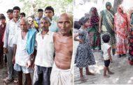 ग्रामीणों ने विकास की मांग कर पोलियो का किया बहिष्कार
