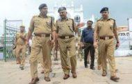डीजीपी ने इमामबाड़े का किया निरीक्षण, दिए निर्देश