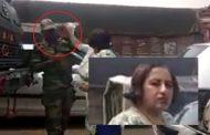 सेना के जवान को थप्पड़ मारने वाली यह महिला लोगो के गुस्से का हुयी शिकार . महिला पर पुलिस ने कसा शिकंजा ....