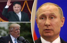 'स्कूली बच्चों' की तरह लड़ रहे किम जोंग व डोनाल्ड ट्रंप : रूस