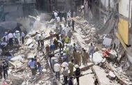 हुसैनी इमारत हादसे में मृतकों की संख्या हुई 33 , राहत व बचाव कार्य जारी
