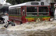महाराष्ट्र में बरसात से बाढ़ के हालात , यातायात व्यवस्था हुआ चौपट