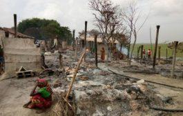 बेखौफ दबंगों ने जला डाले70 से ज्यादा घर, सब तरफ फैली है राख ही राख !