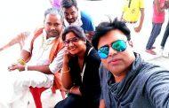 बलमा डेरिंगबाज़ की शूटिंग हो रही है आज़मगढ़ में