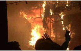 पटना के पीरबहोर इलाके में लगी भीषण आग, दमकल की 16 गाड़ियां पहुंची