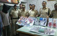 पालघर में लाखो के मोबाईल, लैपटॉप के साथ दो चोर गिरफ्तार