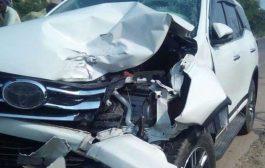 जोगेश्वरी-विक्रोली लिंक रोड पर पांच वाहन दुर्घटनाग्रस्त