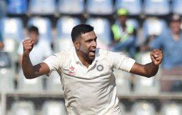 नागपुर टेस्ट : श्रीलंका की पहली पारी 205 पर सिमटी, अश्विन को 4 विकेट