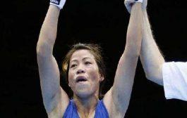 एशियाई महिला मुक्केबाजी के सेमीफाइनल में पहुंची मैरी कॉम