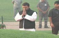 प्रथम प्रधानमंत्री नेहरू को श्रद्धांजलि देते हुए राहुल गांधी ने प्रधानमंत्री मोदी पर साधा निशाना