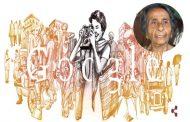 होमी व्यारावाला की 104वीं जयंती पर गूगल ने डूडल बनाकर दी श्रद्धांजलि
