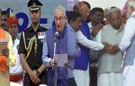 विजय रुपाणी दूसरी बार बने गुजरात के CM , PM मोदी सहित कई दिग्गज समारोह में हुए शामिल