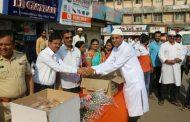पालघर में शिवसेना ने ईद मिलादुन्नबी पर मुस्लिम बंधुओ का किया स्वागत