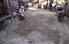 श्यामपुर में स्वच्छ भारत अभियान का नहीं दिखा असर