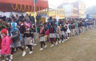 विद्यालयों ने मनाया गया गणतंत्र दिवस, निकाली गयीं मनोरम झांकियां