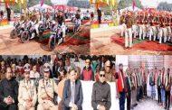 कानपुर में हर्षोंल्लास के साथ मनाया गया 69वां गणतंत्र दिवस