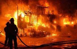 भिवंडी के कारखाने में लगी भीषण आग