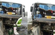 यात्रियों से भरी बस दुर्घटनाग्रस्त, 40 घायल, 12 की हालत गंभीर