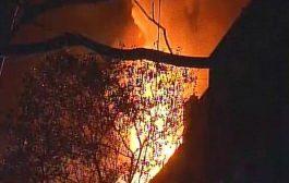 नवरंग स्टुडियो में आग लगने से एक घायल