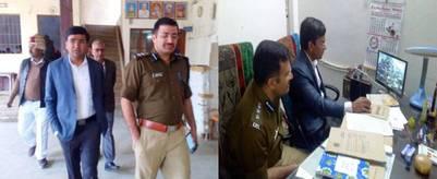 डीएम-एसएसपी ने सीसीटीवी कंट्रोल रूम से परखी बोर्ड परीक्षाओं की हकीकत