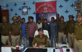 पांच शातिर लुटेरे गिरफ्तार, 22 मोबाइल बरामद