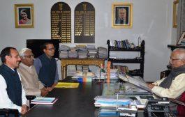 राजभवन पहुंचा जानकीपुरम विस्तार में ट्रामा सेन्टर का मामला