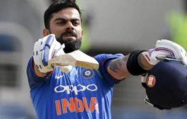 वनडे रैंकिंग में शीर्ष पर कोहली, 900 अंक हासिल करने वाले पहले भारतीय