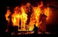 कास्मेटिक के दुकान में लगी आग, दो लाख का सामान जलकर खाक