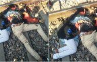 नाबालिग प्रेमी जोड़े ने ट्रेन के सामने कूदकर दी जान , एक दूसरे से लिपटे थे शव !