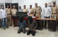 पालघर पुलिस ने पांच चोरो को गिरफ्तार करके लाखो का सामान किया जप्त