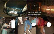 मुंबई - पूना हायवे पर टेम्पो और कार में जोरदार भिड़ंत, 5 लोगो की मौत,2 घायल