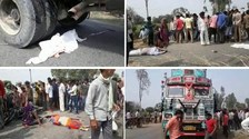 कन्नौज : सड़क हादसे में दो बच्चों सहित पांच की मौत