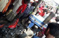 बेतिया : हरिनगर दुकान में घुसा ट्रैक्टर