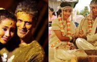 अपने से 26 साल छोटी लड़की से मिलिंद सोमन ने रचाई शादी , देखे शादी के pics