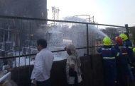 तारापुर में केमिकल कंपनी में आग लगने से लाखो का समान जलकर खाक