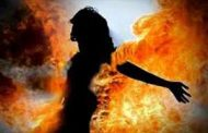 नशे में धुत्त पति बना हैवान, पत्नी को बेरहमी से पीटा और जिंदा जला दिया