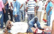 डुमरियाघाट में बगहा के एएसआई को अज्ञात टेक्टर ने मारी ठोकर ,गंभीर रूप से जख्मी।